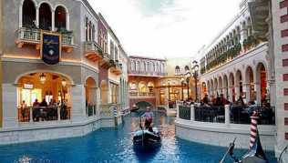 Venedig in der Wüste, die perfekte Illusion in Las Vegas, USA.
