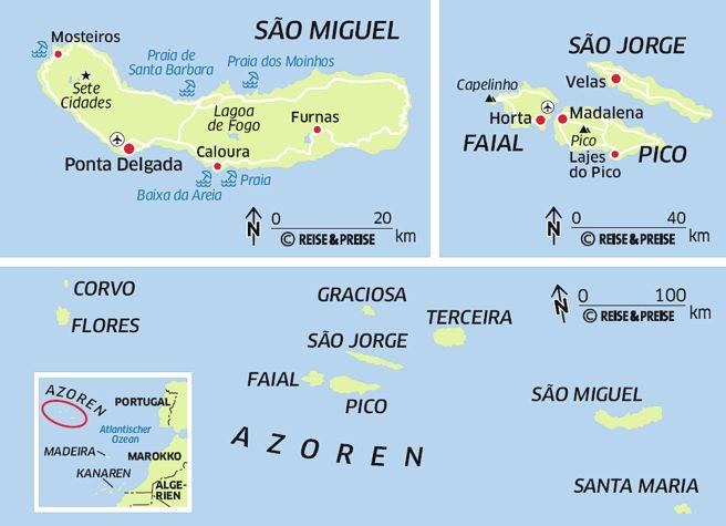 Azoren Karte Portugal.Portugal Reiseberichte Erfahrungen Reisetipps