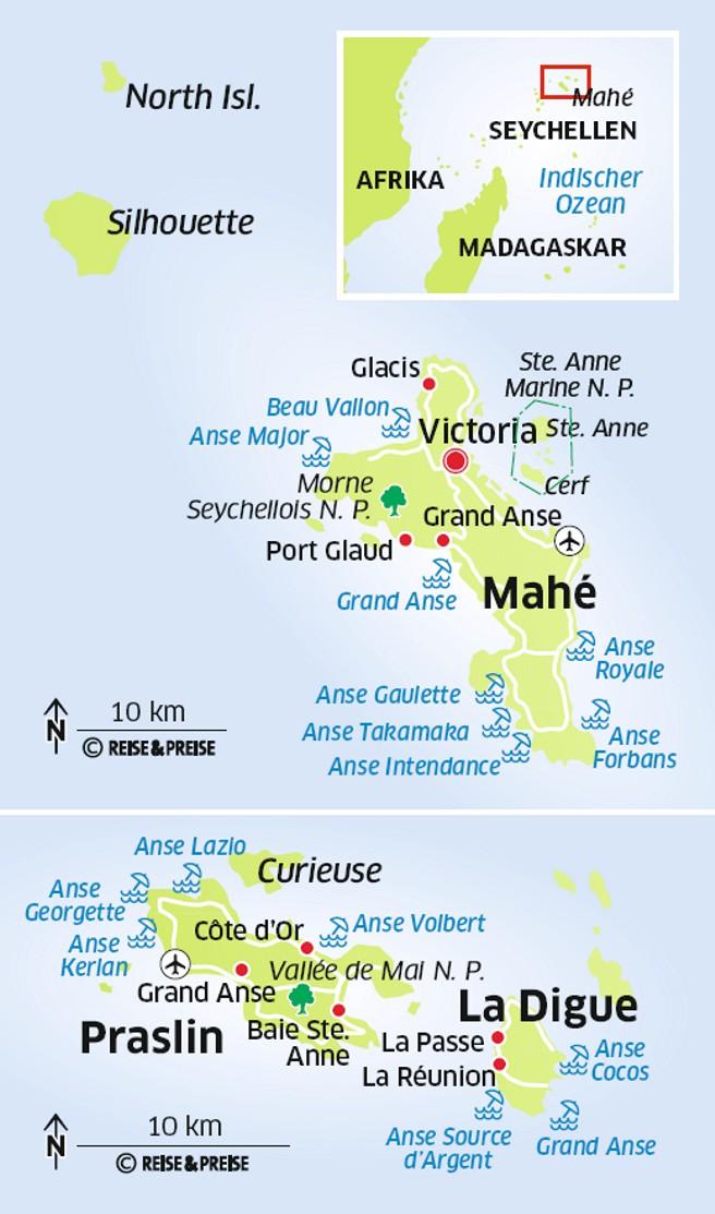 Seychellen Karte Afrika.Seychellen Insider Tour Im Garten Eden Des Indischen Ozeans