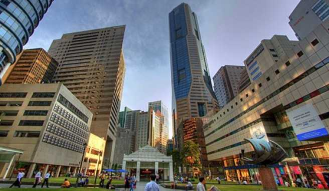Business-Standort Singapur,Raffles Place