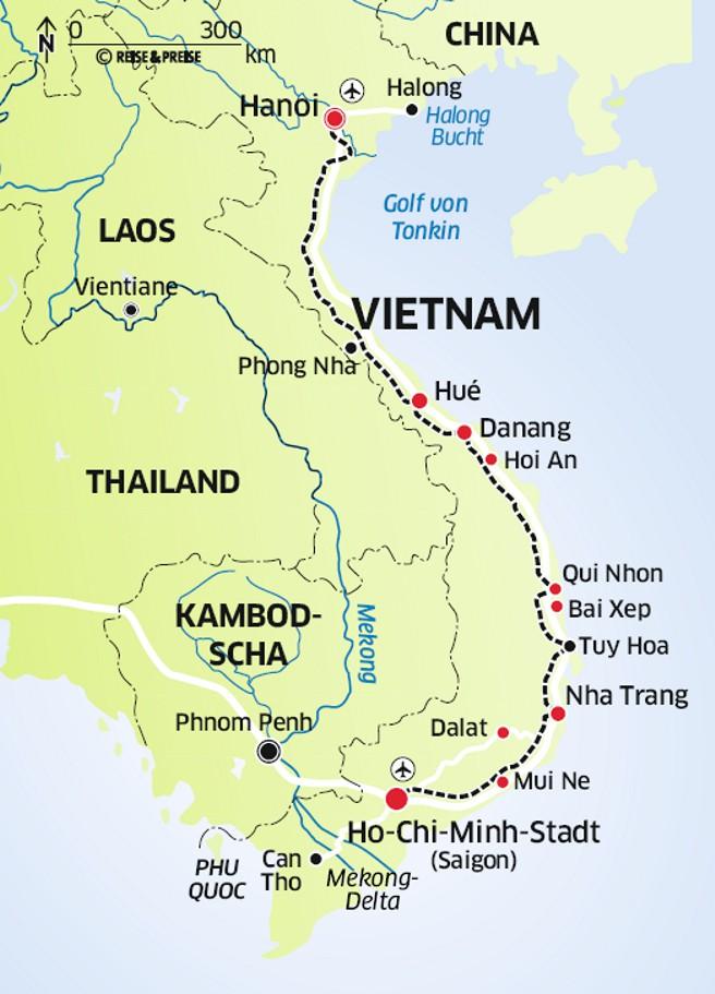Vietnamkrieg Karte.Reisebericht Vietnam Von Süd Nach Nord Neu Entdeckt Auf Alten Wegen