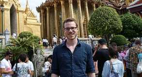 Unser Autor Christoph Pfaff unternahm am Wochenende eine Sightseeingtour durch Bangkok.