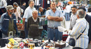 El Rastro ist Madrids beliebtester Flohmarkt.