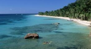 Ideal zum Schnorcheln und Tauchen: Vor der Küste von Roatán lockt eines der größten Riffe der Welt.