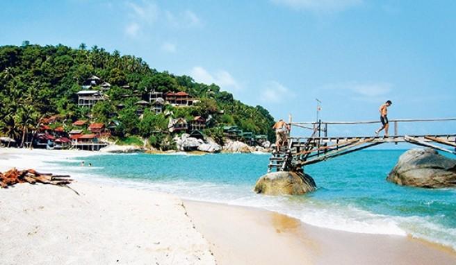 Had Sadet an der Ostküste von Koh Phangan in Thailand ist ein Paradies für junggebliebene Weltenbummler.