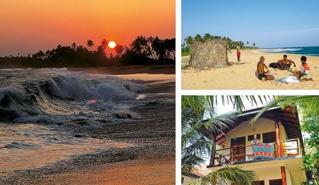 Marakolliya Beach auf Sri Lanka: Kaum jemand hat je den Namen gehört, entsprechend einsam ist es hier.