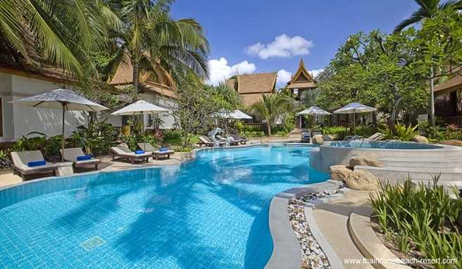 koh samui lamai beach thailand fans lieben diesen strand. Black Bedroom Furniture Sets. Home Design Ideas