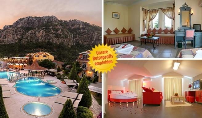 Dalyan gehört zu den ursprünglichsten Urlaubsorten der Türkei. Ein gutes Hotel ist der Club alla Turca.
