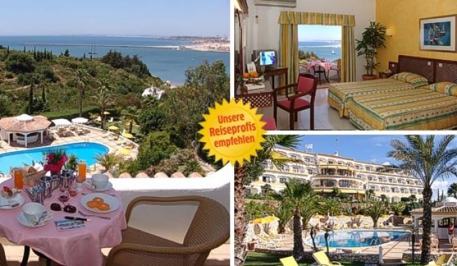 Das Hotel Casabela hat eine tolle Lage und eine ebenso schöne Aussicht