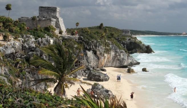 Tulum ist seit 1200 besiedelt und zählte damals zu den größten Städten Mexikos.