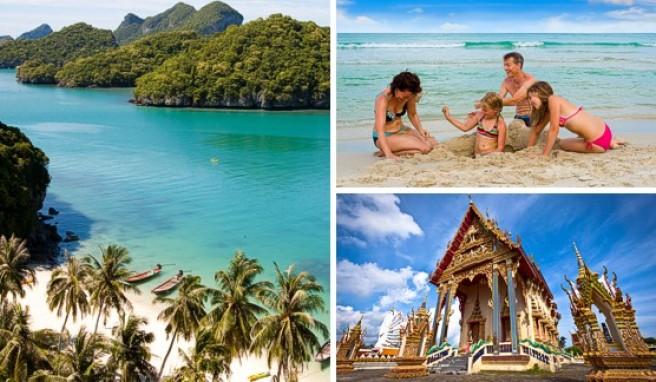 Koh Samui: Der Anthong National Marine Park besteht aus 42 Inseln - ein beliebtes Fernreiseziel auch für Familien.