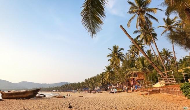 An den Traumstränden Goas kann man prima entspannen.##Foto: Tobias Helbig/ istockphoto.de