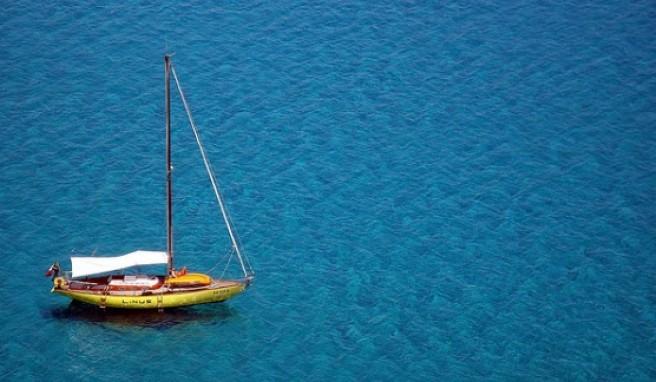 Eine schönere Farbe kann das Meer kaum haben als vor Villasimius an der Costa Rei.