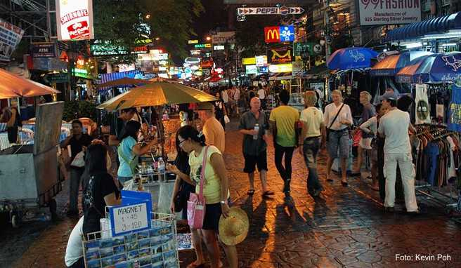 Khao Sun Road in Bangkok