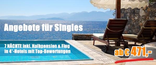 Reise buchen single